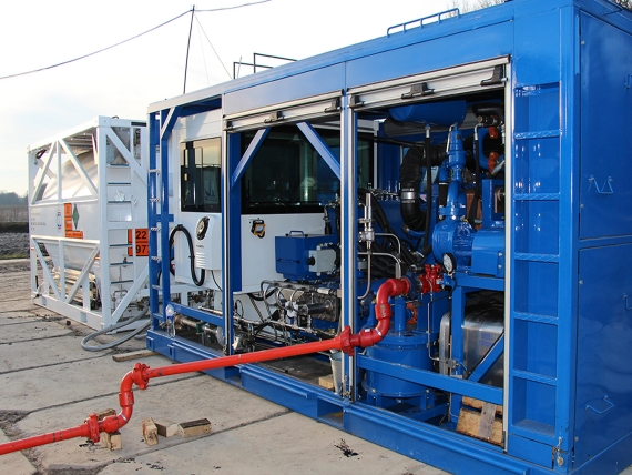Азотний агрегат А100 з ємністю для рідкого азоту